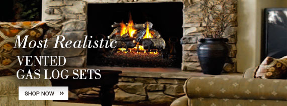 Realistic Vent Free Gas Log Sets