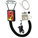 IQ110 BBQ Temperature Regulator Kit with Adjustable Kamado Pit Adapter