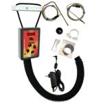 Pitmaster IQ120 BBQ Temperature Regulator Kit with Kamado Pit Adapter