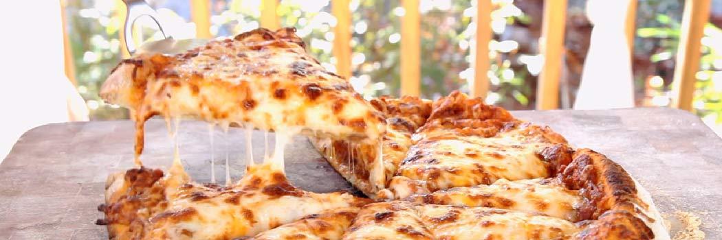 Ultimate Four-Cheese Pizza with Hidden Veggie Sauce Recipe Video Pizza Dough Recipe Video