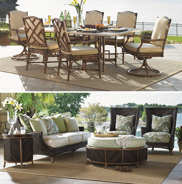 Dining Set & Seating Set with Outdoor Rug