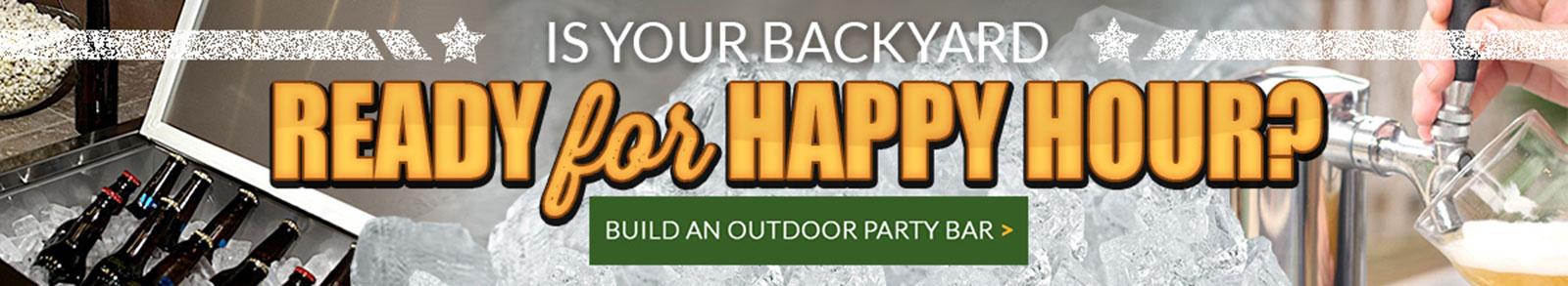 Outdoor Party Bar