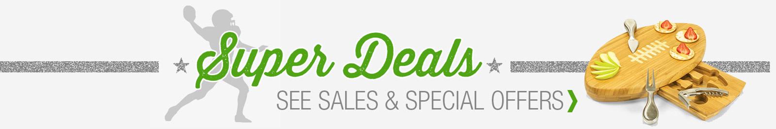 Super Deals Sales and Specials