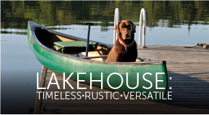 Lakehouse Patio Design