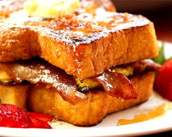 Ultimate French Toast Breakfast Sandwich