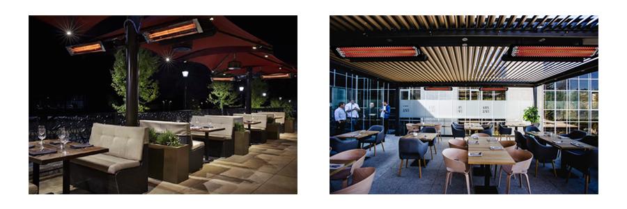 Heatstrip Thermofilm Ceiling Mount Patio Heaters Minimalist Design