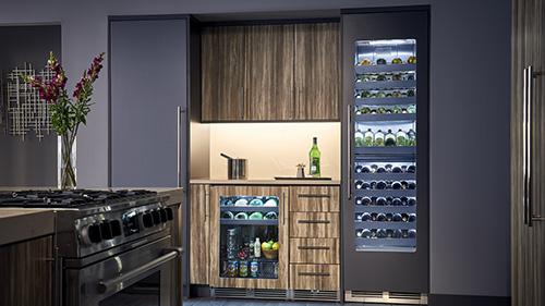 Perlick indoor wine and beverage coolers