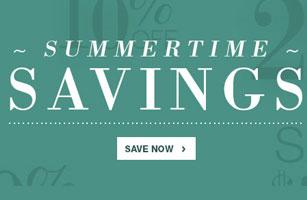 Summertime Savings