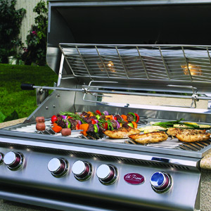 About the grill: Cooking