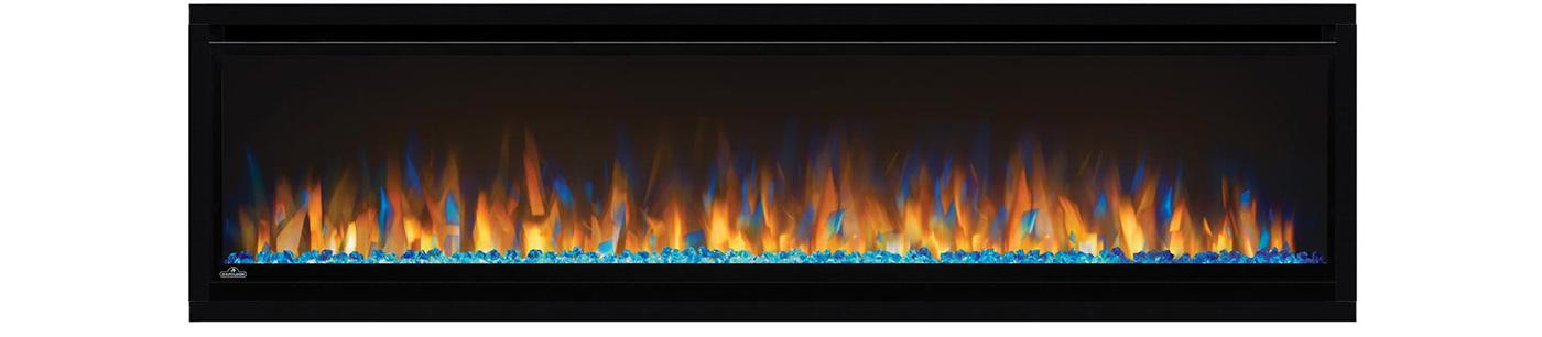 Napoleon Alluravision Slimline Electric Fireplace