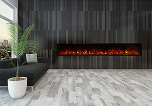 Wall Mount Fireplace Installation