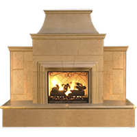 Freestanding Outdoor Gas Fireplaces