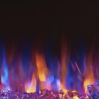 Changing Flame Color Electric Fireplaces