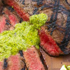 Brazilian Flank Steak with Chimichurri Sauce