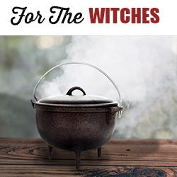 Shop Cast Iron Cauldrons
