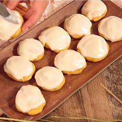 Homemade Pumpkin Sugar Cookies