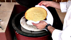 How to Bake on a Kamado Ceramic Grill Video