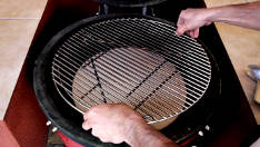 How to Set up a Kamado Ceramic Grill for Indirect or Slow Cooking