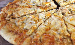 Grilled Buffalo Chicken Pizza Recipe