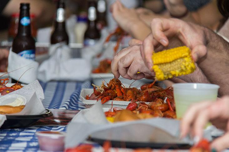 2014 Quarterly Party Crawfish Boil