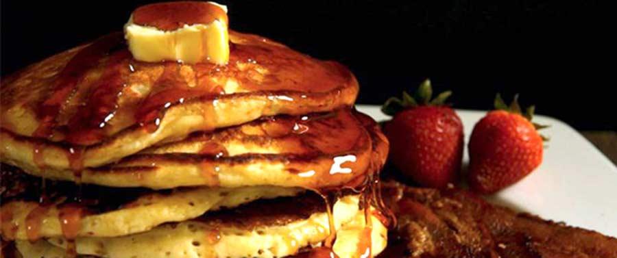 Buttermilk Pancakes Recipe on the Blaze Griddle