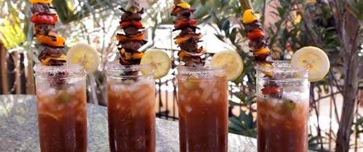 Char-Grilled Bloody Mary Recipe
