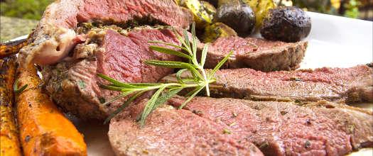 Rotisserie Leg of Lamb on a Kamado Grill Recipe Video