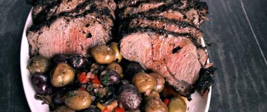 Whole Ribeye Roast Rotisserie Recipe Video