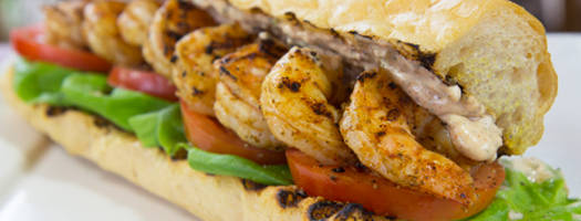 Grilled Shrimp Po-Boy on Gas Grill With Homemade Remoulade Sauce Recipe Video