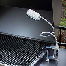 Grill Outside at Night