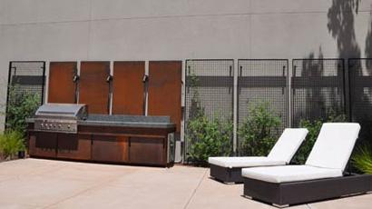 Rooftop Retreat Outdoor Kitchen