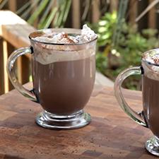 Homemade Bailey's Hot Chocolate