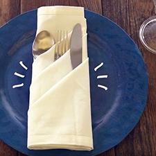 How to Pocket Fold a Napkin
