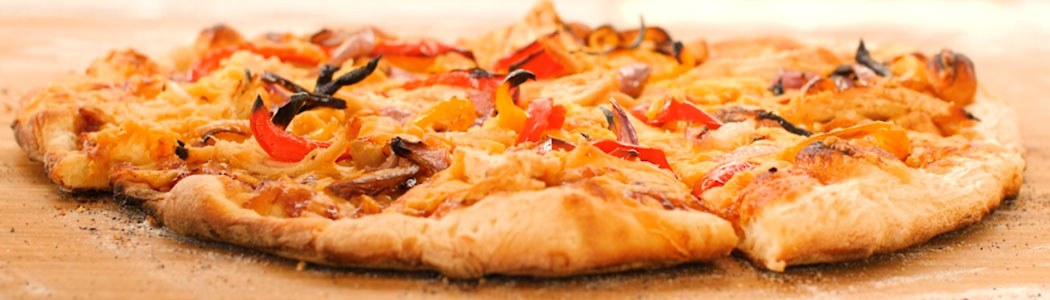 Grilled Chicken BBQ Pizza in the Camp Chef Pizza Oven