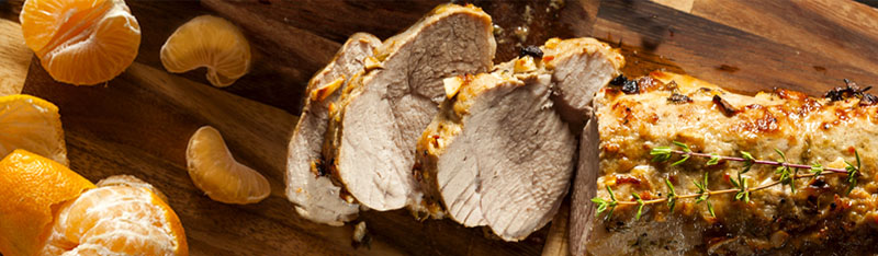 Grilled Pork Tenderloin with Orange Salad