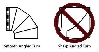Vent A Hood Duct Angle
