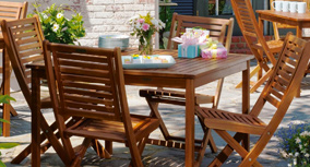 Teak and Wood Patio Furniture