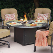Patio Fire Pit Chat Sets