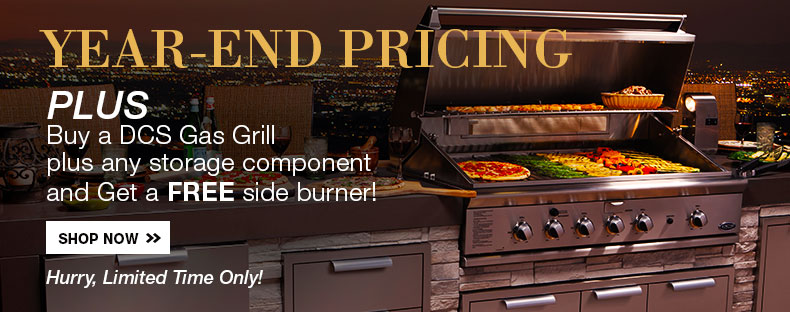 Year-End Pricing on DCS Grills