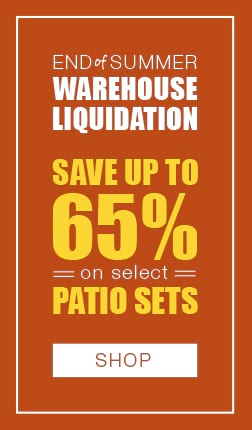 End of Summer Warehouse Liquidation