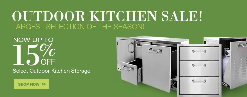 Outdoor Kitchen Component Sale