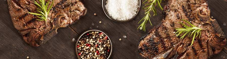Grilled Porterhouse Steak with Balsamic Sauce