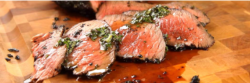 Herb Crusted Tri-Tip Steak on an American Muscle Grill Recipe Video