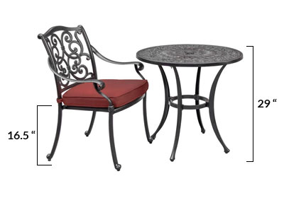 Outdoor Table & Chair Height Buying Guide