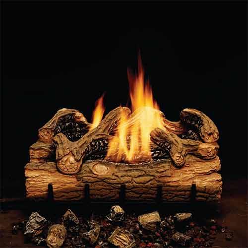 Hickory Gas Log Sets