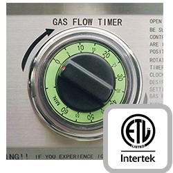Built In Gas Flow Timer
