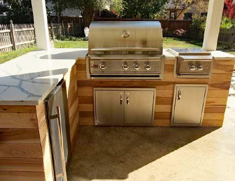 bargain mansions outdoor kitchen 1