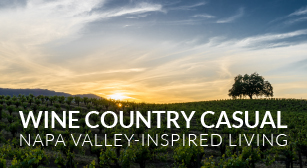 California Vineyard Outdoor Room