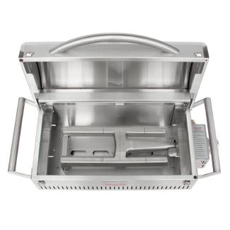 Heavy duty cast stainless steel H burner
