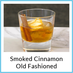 Smoked Cinnamon Old Fashioned